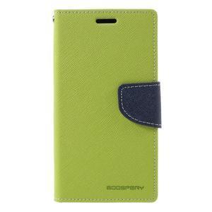 Goosper PU kožené pouzdro na Samsung Galaxy S7 - zelené - 3