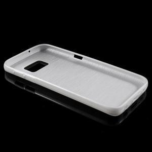 Brush gelový obal na mobil Samsung Galaxy S7 - bílý - 3
