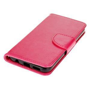Stand peněženkové pouzdro na Samsung Galaxy S7 - rose - 3