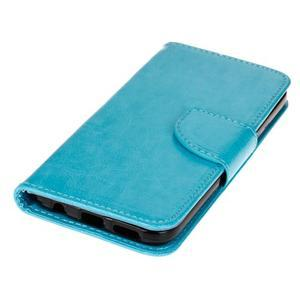 Stand peněženkové pouzdro na Samsung Galaxy S7 - modré - 3