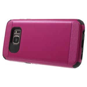 Dvoudílný odolný kryt na Samsung Galaxy S7 - rose - 3