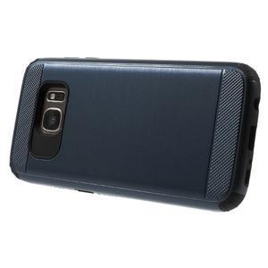 Dvoudílný odolný kryt na Samsung Galaxy S7 - tmavěmodrý - 3