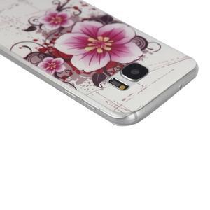 Pictu gelový obal na mobil Samsung Galaxy S7 - květiny - 3