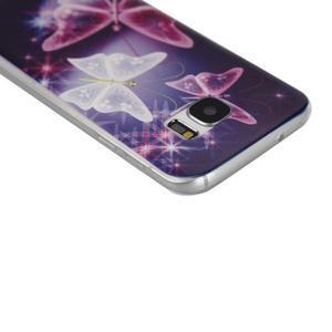 Pictu gelový obal na mobil Samsung Galaxy S7 - kouzelní motýlci - 3