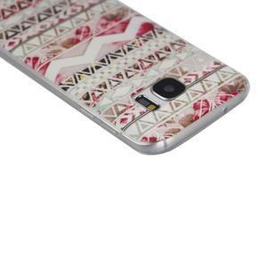 Pictu gelový obal na mobil Samsung Galaxy S7 - geo tvary - 3