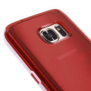 Dvoudílný obal na mobil Samsung Galaxy S7 - červený - 3