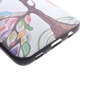 Backy gelový obal na Samsung Galaxy S7 edge - malovaný strom - 3