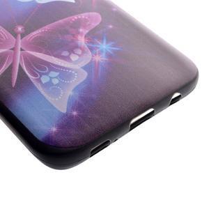 Backy gelový obal na Samsung Galaxy S7 edge - kouzelní motýlci - 3