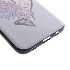 Backy gélový obal pre Samsung Galaxy S7 edge - hodiny - 3