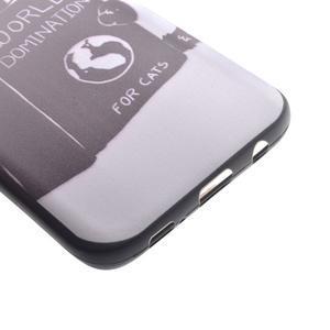 Backy gelový obal na Samsung Galaxy S7 edge - kočka - 3