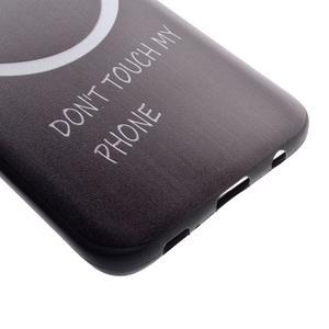 Backy gelový obal na Samsung Galaxy S7 edge - nedotýkat se - 3