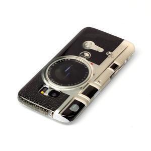 Softy gelový obal na Samsung Galaxy S7 edge - retro foťák - 3