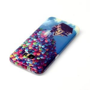 Softy gelový obal na Samsung Galaxy S7 edge - nafukovací balónky - 3