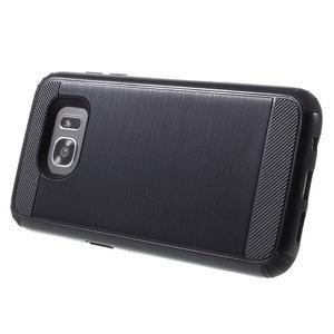 Odolný dvoudílný obal na Samsung Galaxy S7 edge - černý - 3