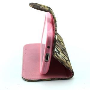 Pusinky peněženkové pouzdro na Samsung Galaxy S4 Mini - style - 3