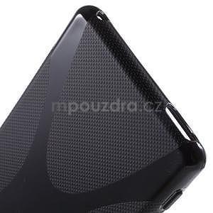 Černý gelový obal na Sony Xperia M4 Aqua - 3