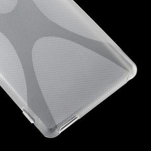 Transparentní gelový obal na Sony Xperia M4 Aqua - 3