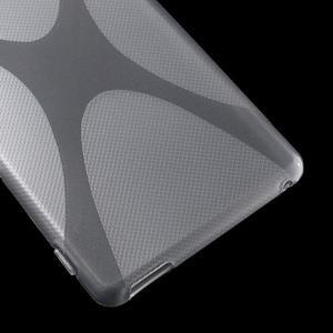 Šedý gelový obal na Sony Xperia M4 Aqua - 3