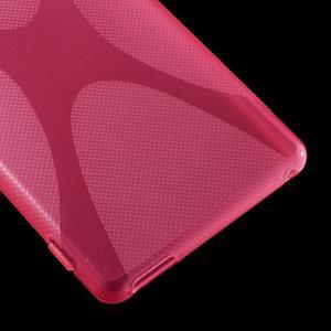 Rose gelový obal na Sony Xperia M4 Aqua - 3
