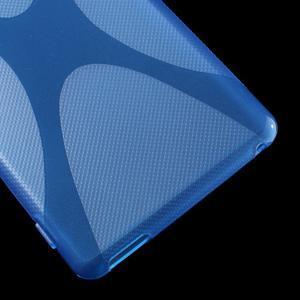 Modrý gelový obal na Sony Xperia M4 Aqua - 3