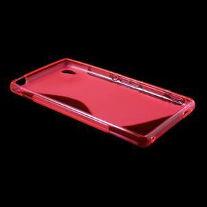 Rose s-line pružný obal na Sony Xperia M4 Aqua - 3