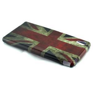 Gelový kryt na Sony Xperia M4 Aqua - UK vlajka - 3