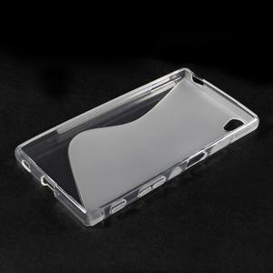 Sline gelový kryt na mobil Sony Xperia Z5 - transparentní - 3
