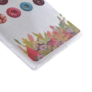 Gelový obal na mobil Sony Xperia Z5 Compact - koblihy - 3