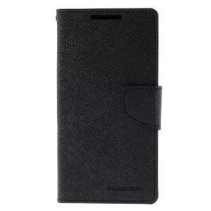 Mercur peněženkové pouzdro na Sony Xperia Z5 - černé - 3