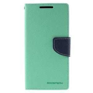 Mercur peněženkové pouzdro na Sony Xperia Z5 - cyan - 3