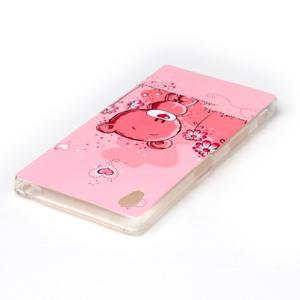 Softy gelový obal na mobil Sony Xperia Z5 - medvídek - 3