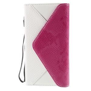 Stylové peněženkové pouzdro Sony Xperia Z5 - rose - 3