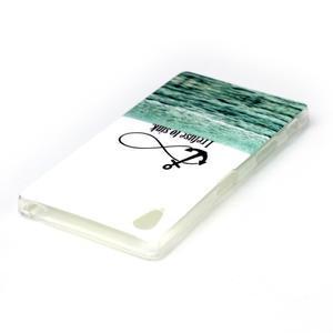 Softy gelový obal na mobil Sony Xperia Z5 - kotva - 3