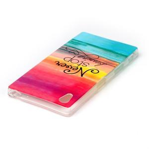 Softy gelový obal na mobil Sony Xperia Z5 - nepřestávej snít - 3