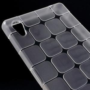 Square gelový obal na Sony Xperia Z5 - bílý - 3
