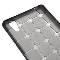 Square gelový obal na Sony Xperia Z5 - šedý - 3/5