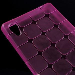 Square gelový obal na Sony Xperia Z5 - rose - 3