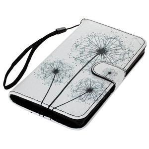 Koženkové pouzdro na mobil Sony Xperia Z5 - pampelišky - 3