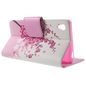 Lovely pouzdro na mobil Sony Xperia Z5 - kvetoucí větvička - 3
