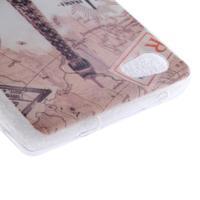Gelový obal na mobil Sony Xperia Z5 Compact - Eiffelova věž - 3/4