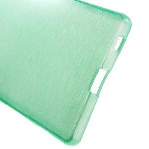 Brush lesklý gelový obal na Sony Xperia Z5 - cyan - 3