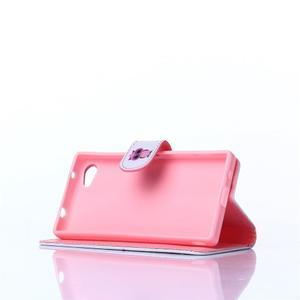 Sand pouzdro na mobil Sony Xperia Z5 Compact - sovička - 3
