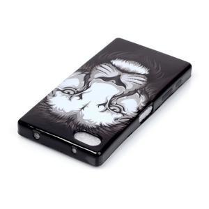 Softs gelový obal na Sony Xperia Z5 Compact - lev - 3