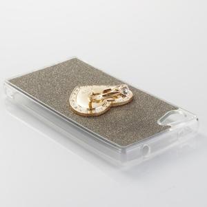 Love gelový obal s náprstkem na Sony Xperia Z5 Compact - šedý - 3