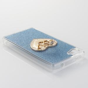 Love gelový obal s náprstkem na Sony Xperia Z5 Compact - modrý - 3