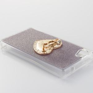 Love gelový obal s náprstkem na Sony Xperia Z5 Compact - fialový - 3