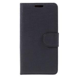 Grid peněženkové pouzdro na mobil Sony Xperia Z5 Compact - černé - 3