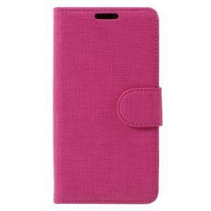 Grid peněženkové pouzdro na mobil Sony Xperia Z5 Compact - rose - 3