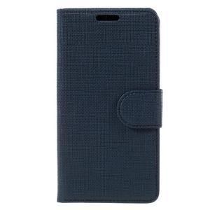 Grid peněženkové pouzdro na mobil Sony Xperia Z5 Compact - tmavěmodré - 3