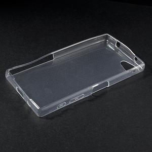 Ultratenký slim gelový obal na Sony Xperia Z5 Compact - transparentní - 3